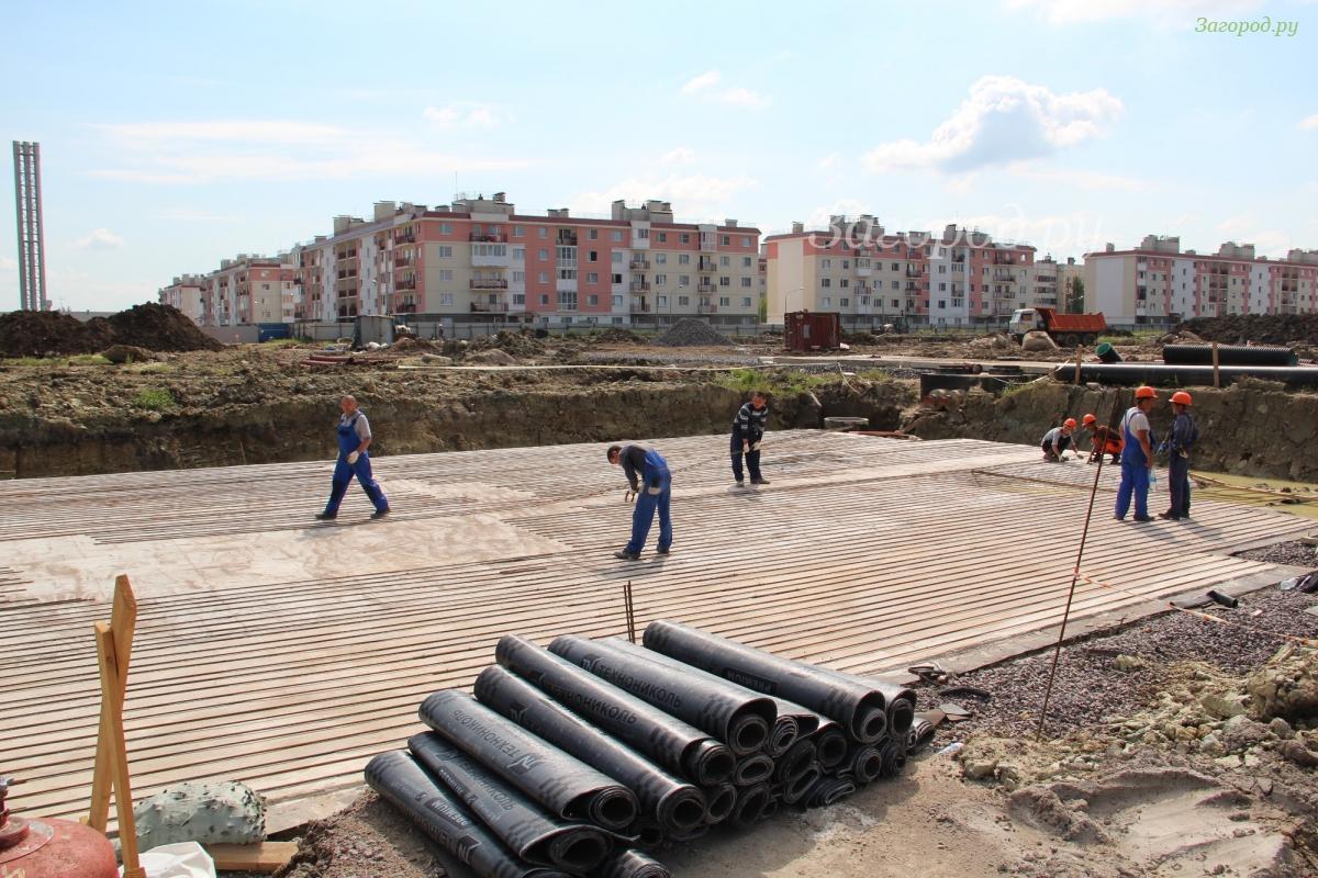 Жк кантемировский фото строительства дома